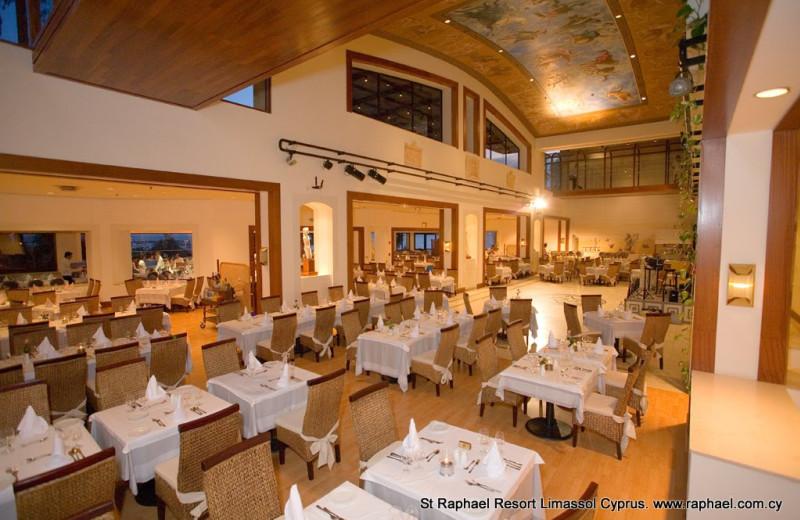 Restaurant at St Raphael Resort.