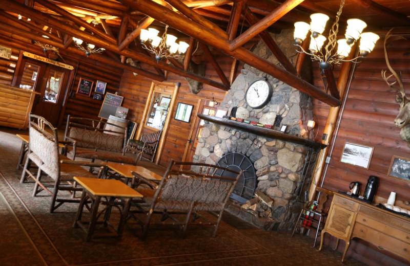Dining at Ruttger's Bay Lake Lodge.