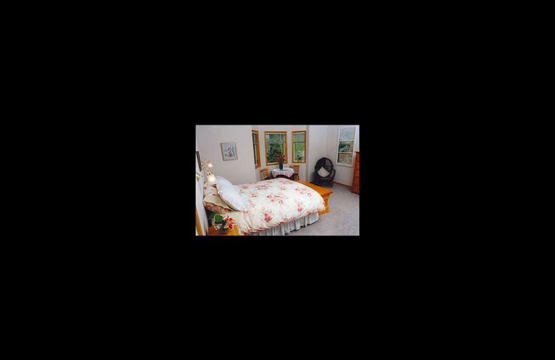 Guest room at Hidden Falls B&B.