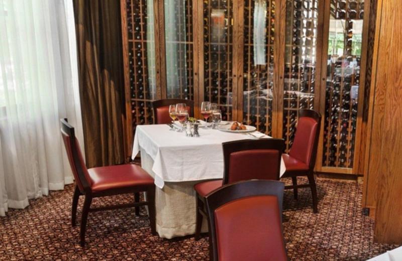 Restaurant at Stonehedge Inn and Spa.