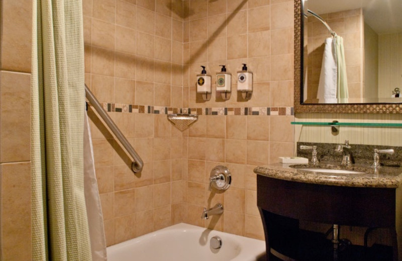Bathroom at Carmel Mission Inn