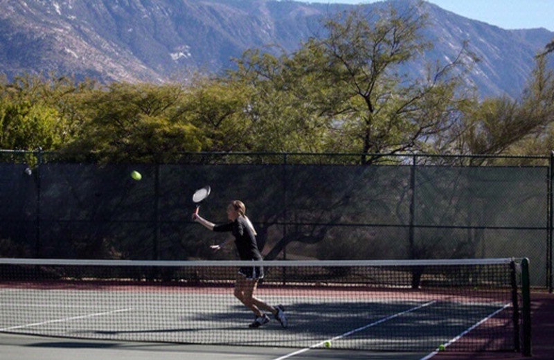 Tennis Courts at Miraval