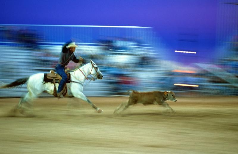 Rodeo near Hotel Chimayo de Santa Fe.