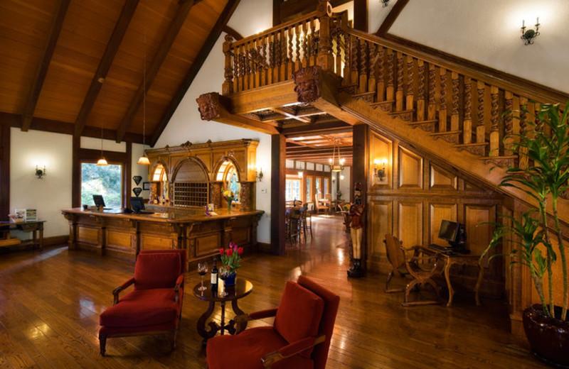 Lobby view at Harvest Inn by Charlie Palmer.