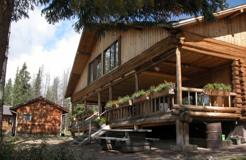 Exterior view of Nechako Lodge.
