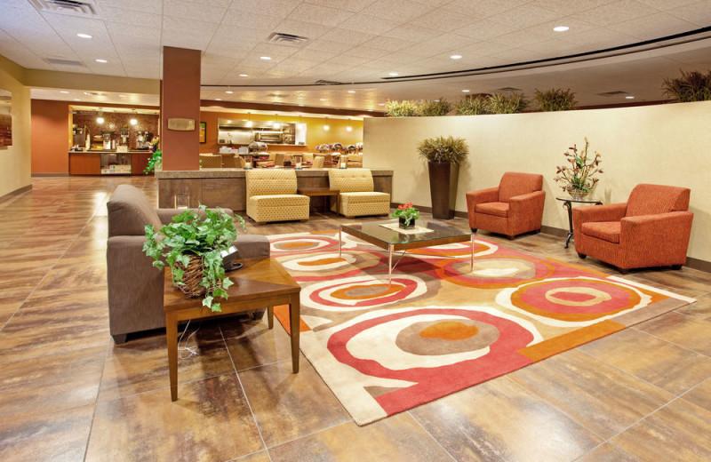 Lobby at Ramada Phoenix.