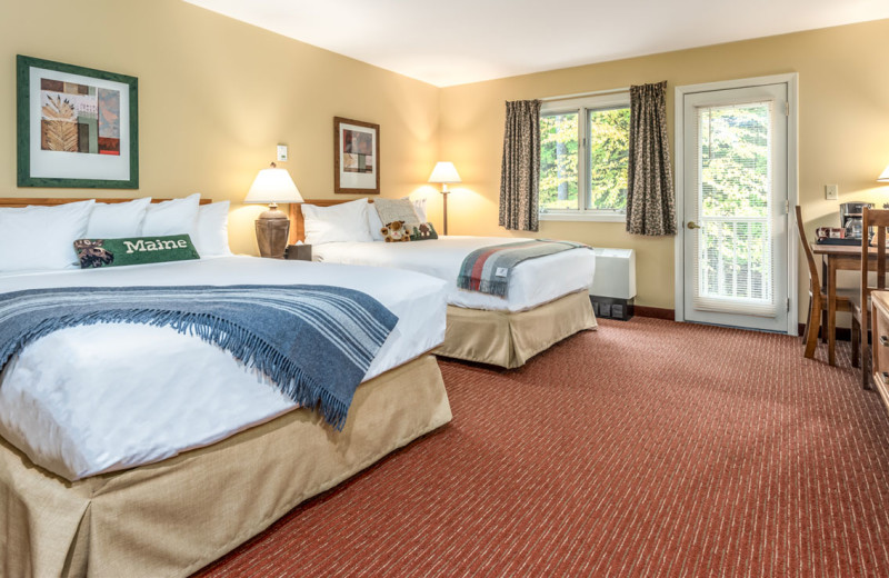 Guest room at Grand Summit Hotel.