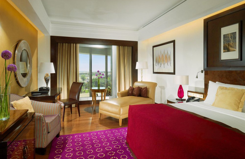 Guest room at Fairmont Towers, Heliopolis.