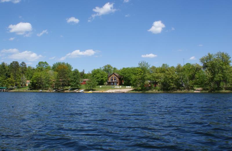 Lake view at Birch Bay Resort Inn.