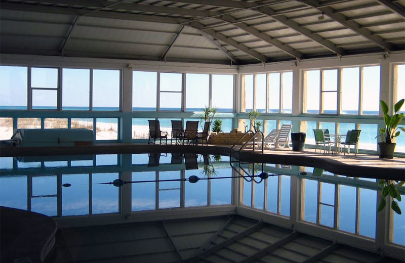 Indoor pool at Fontainebleau Terrace.