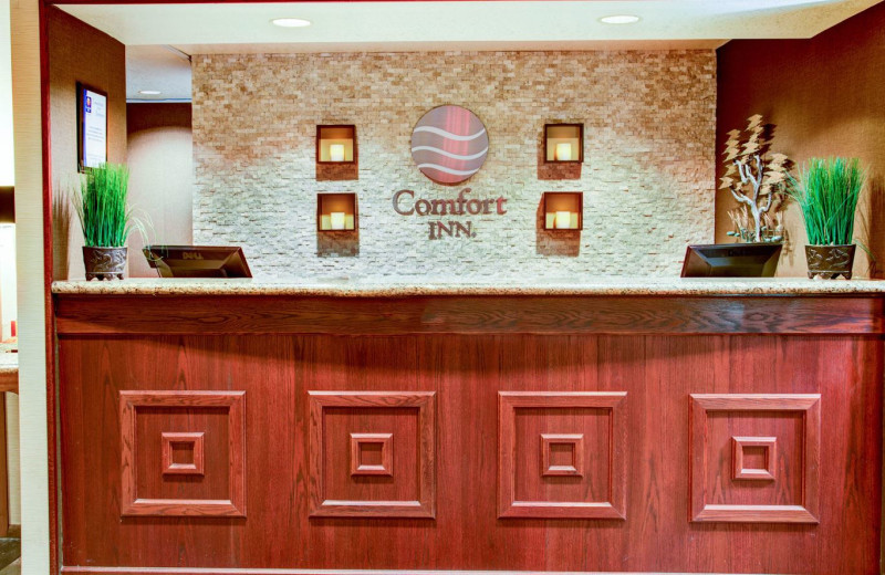 Front Desk at Comfort Inn Florence Hotel