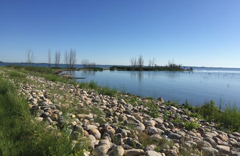 Lake view at Spirit Water Inn Resort.