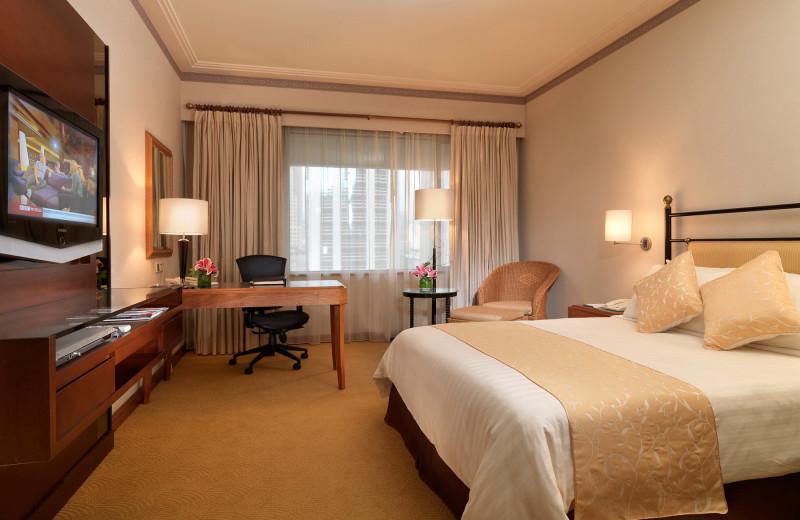 Guest room at Hotel Equatorial Kuala Lumpur.