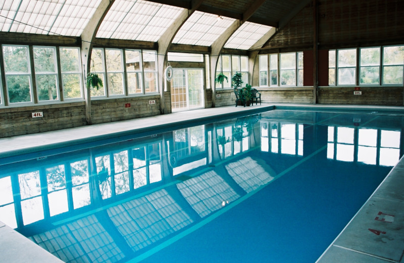 Indoor pool at Heartland Spa & Fitness Resort.