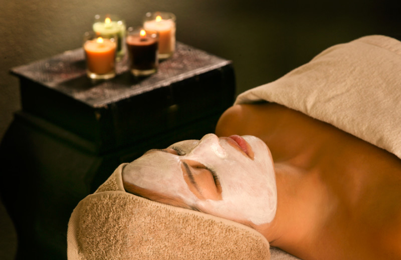 Facial at La Posada de Santa Fe Resort & Spa.
