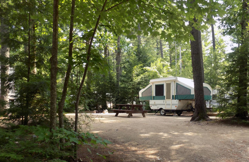 Campground at Mi-Te-Jo Campground.