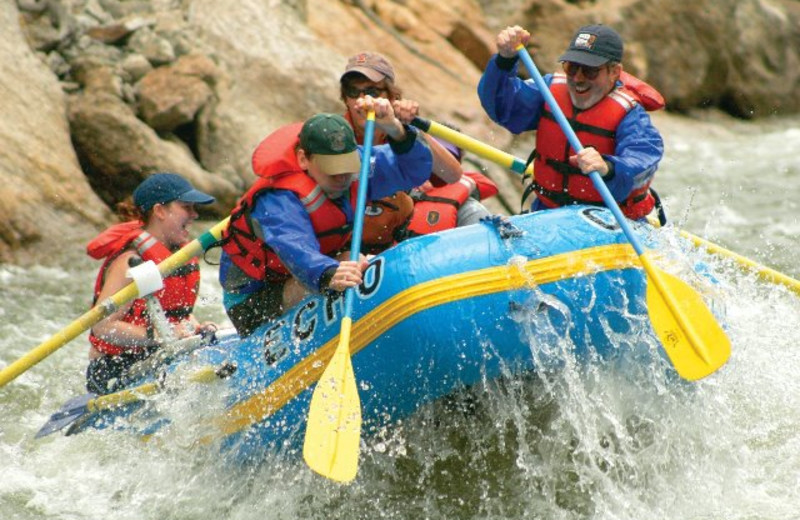 Nearby whitewater rafting in Canon City, Colorado.