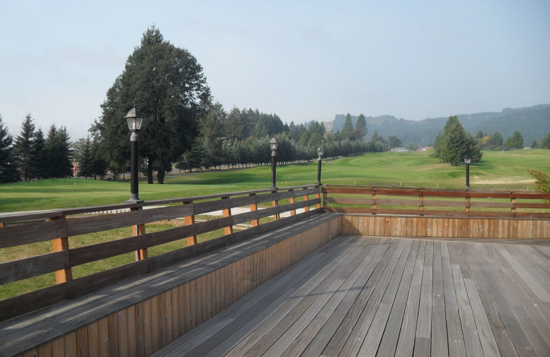 Deck at Carson Hot Springs Spa and Golf Resort.