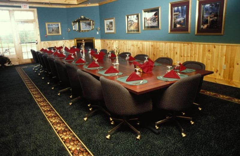Board room at Superior Shores Resort.