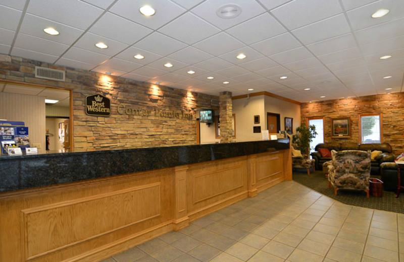 Lobby Area at Best Western Center Pointe Inn