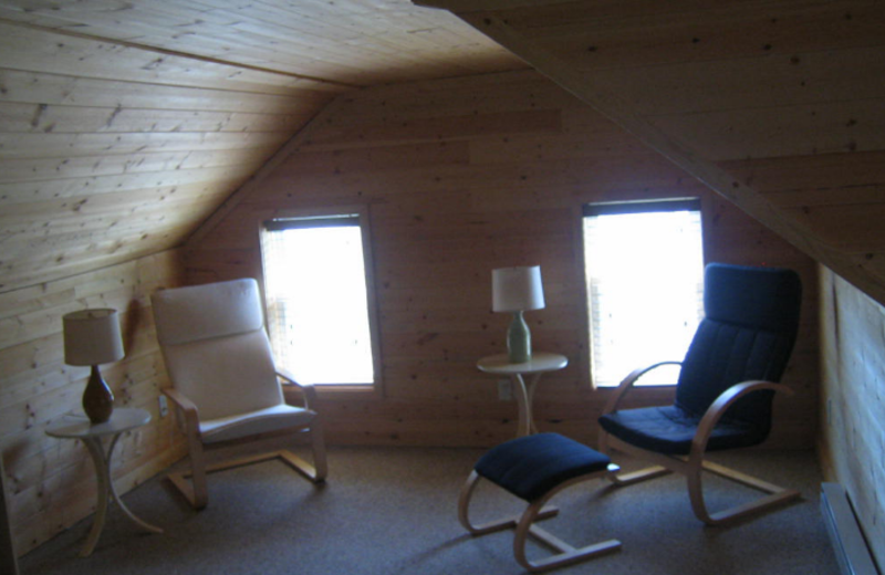 Attic space at Myers Cave Resort.