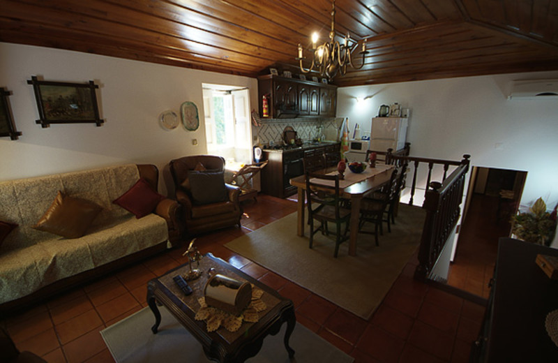 Cottage interior at Villas and Cottages.