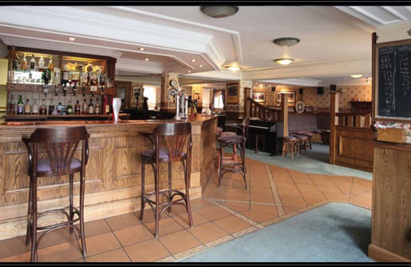 Bar at Dundonnell Hotel.