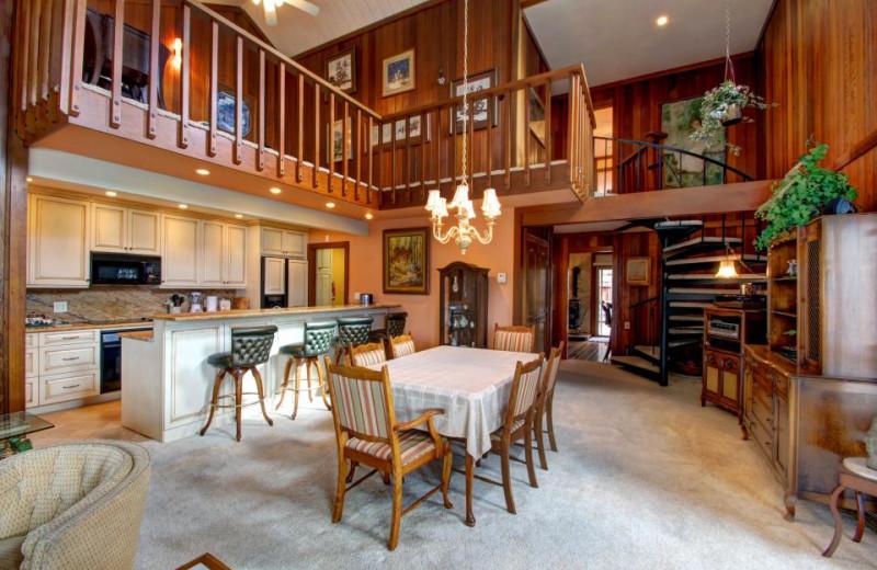 Vacation rental interior at Vacasa Rentals Lake Tahoe.