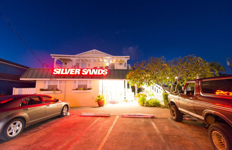 Exterior view of Silver Sands Villas.