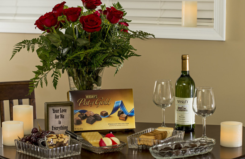 Romance package at 1825 Inn Bed & Breakfast
