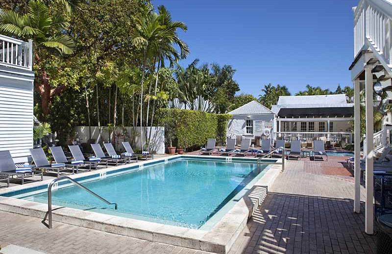 Outdoor pool at NYAH Key West.