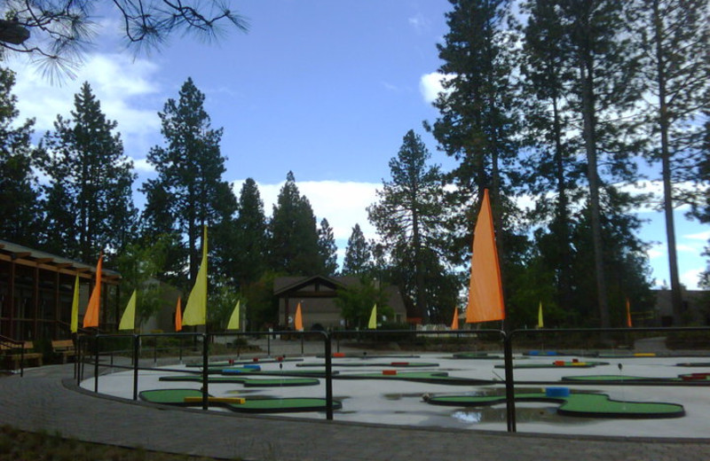 Mini Golf at Seventh Mountain Resort