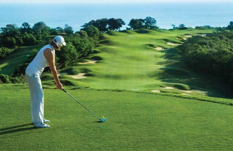 Golf course near Bluefields Bay Villas.