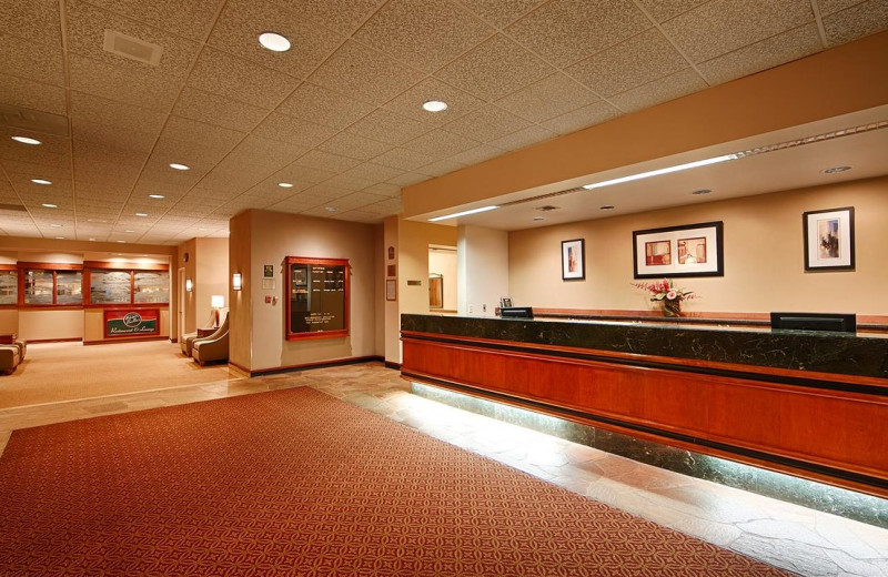 Reception at Best Western Executive Inn Seattle Downtown.