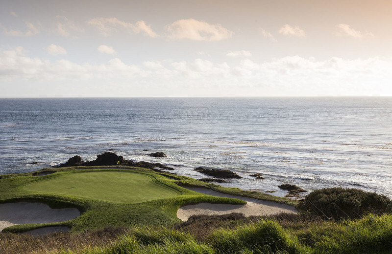 Golf course near Old Monterey Inn.
