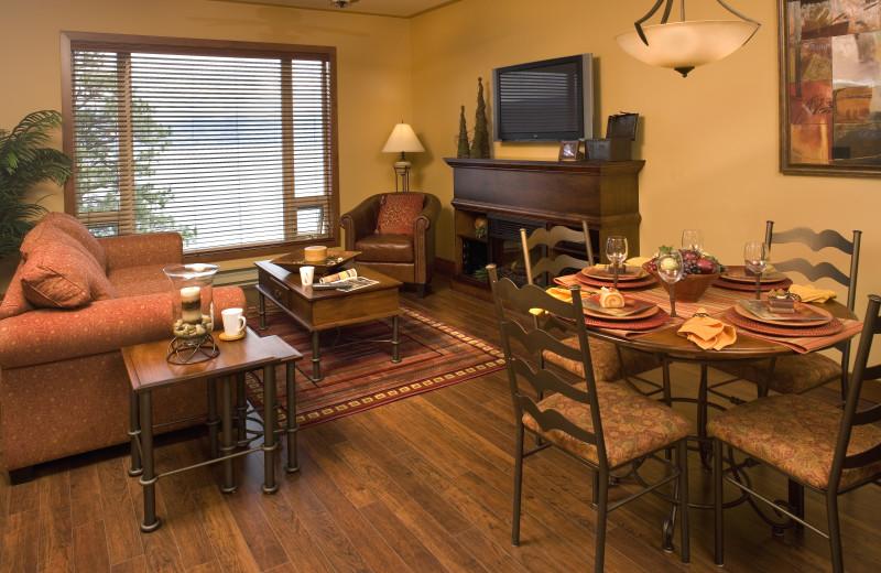 Accommodation at Lake Okanagan Resort