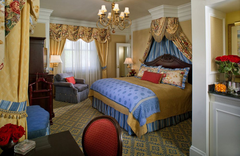 Guest room at The Broadmoor.