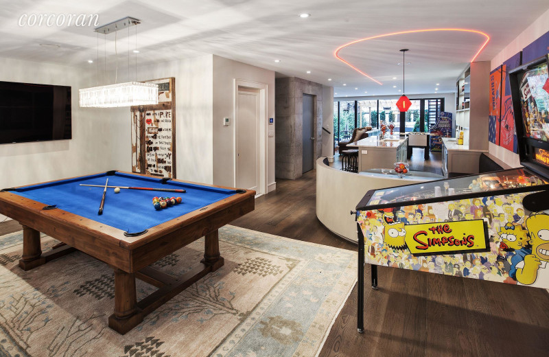 Rental game room at Lauren Berger Collection.