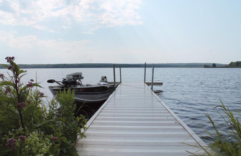Lake view at Boyles's Resort.