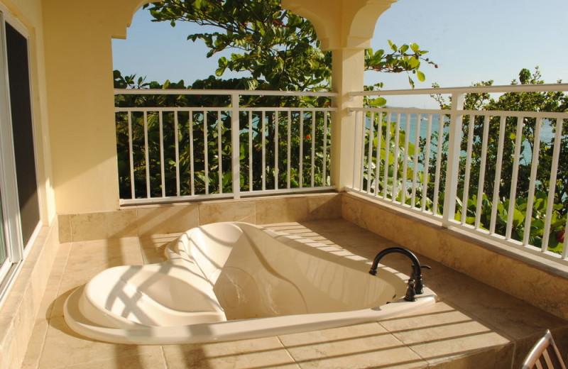 Balcony view at Coco La Palm.