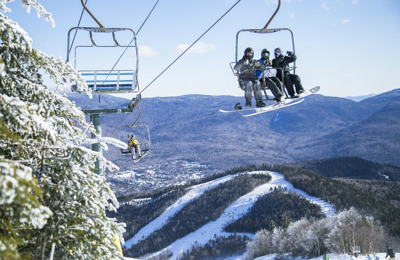 Ski lift at Waterville Valley.
