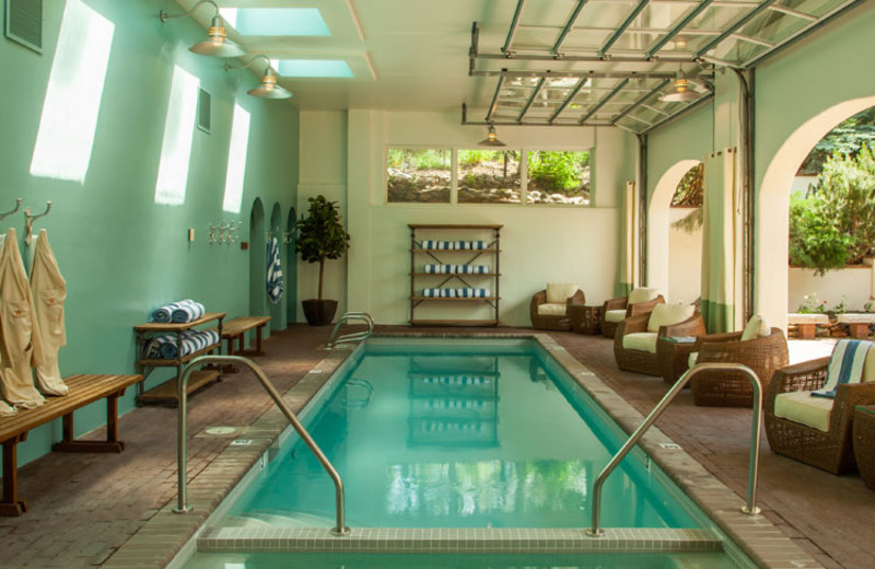Indoor pool at Knob Hill Inn.