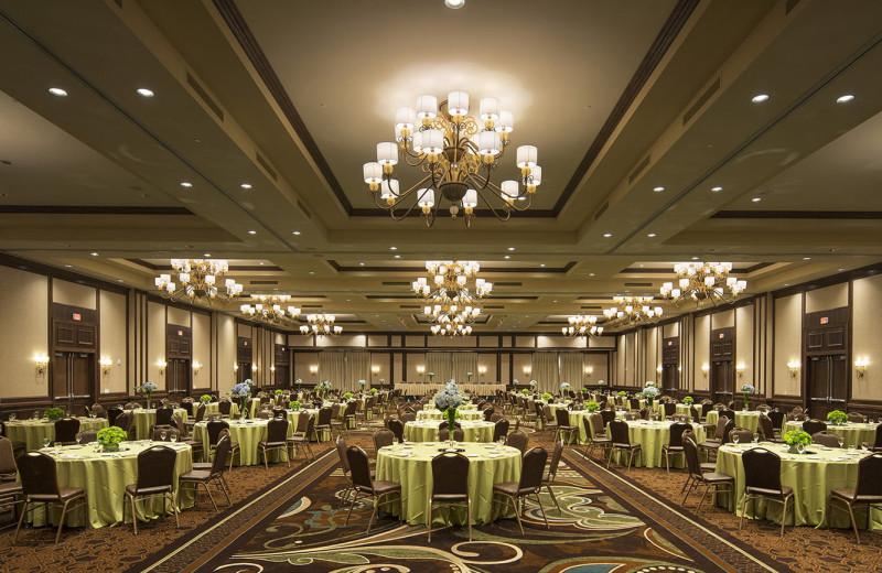 Ballroom at The Osthoff Resort.