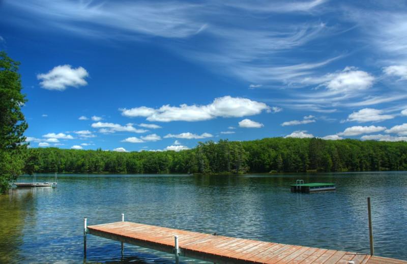 Lake view at White Birch Village Resort.