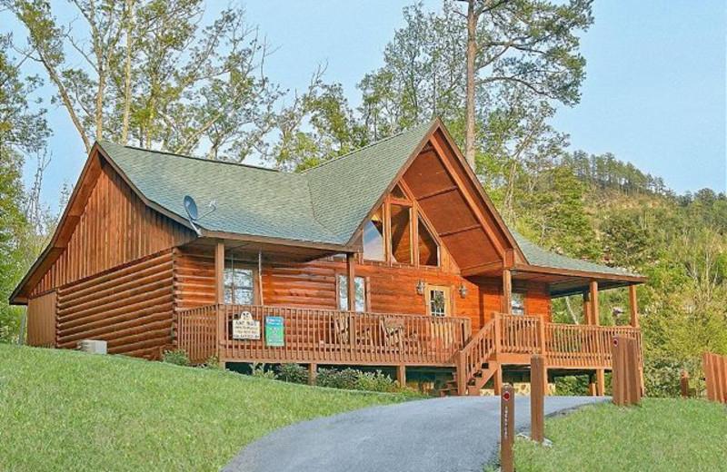 Superieur Cabin Exterior At Aunt Bugu0027s Cabin Rentals, LLC.
