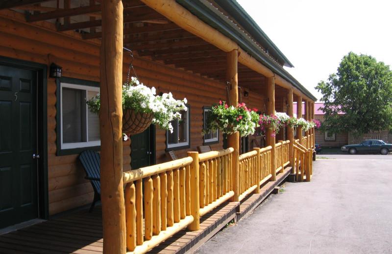 Porch view at Adventure Inn.