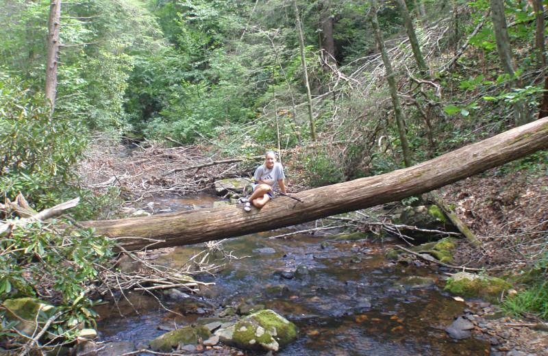 Fishing at The Lodge at River Run.