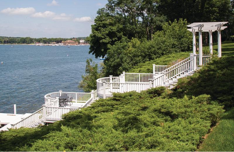 Lake view at Harbor Shores on Lake Geneva.