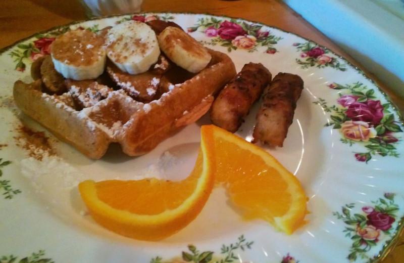 Breakfast at Magic Door.