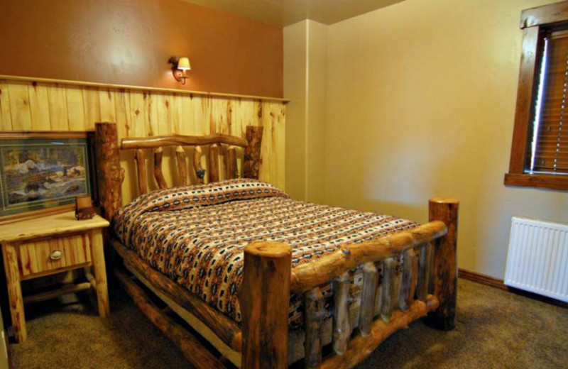 Interior view at Rocky Mountain Elk Ranch.